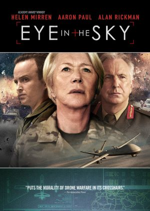 EYE IN THE SKY. (DVD Artwork). ©Universal Home Entertainment.