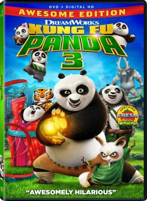 KUNG FU PANDA 3. (DVD Artwork). ©20th Century Fox.