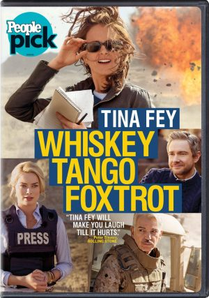 WHISKEY TANGO FOXTROT. (DVD Artwork). ©Paramount Pictures.