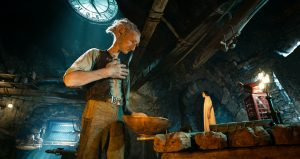 Disney's THE BFG is the imaginative story of a young girl named Sophie (Ruby Barnhill) and the Big Friendly Giant (Oscar (TM) winner Mark Rylance) and their adventures in Giant Country in the film THE BFG. ©Storyteller Distribution Co, LLC.