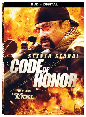 CODE OF HONOR. (DVD Artwork). ©Lionsgate.