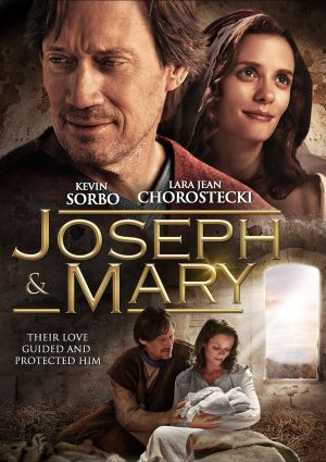 JOSEPH & MARY. (DVD Artwork). ©Cinedigm.