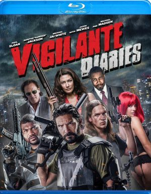 VIGILANTE DIARIES. (DVD Artwork). ©Anchor Bay.