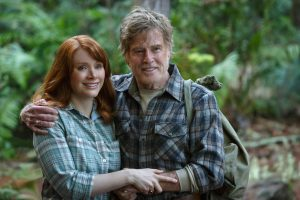 Bryce Dallas Howard is Grace and Robert Redford is Mr. Meacham in Disney's PETE'S DRAGON. ©Disney Enterprises. CR: Matt Klitscher.