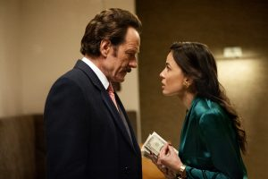(l to r) Bryan Cranston stars as undercover U.S. Customs agent Robert Mazur and Elena Anaya as Gloria Alcainoin THE INFILTRATOR. ©Broad Green Pictures. CR: Liam Daniel / Broad Green Pictures