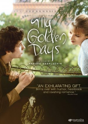 MY GOLDEN DAYS. (DVD Artwork). ©Magnolia Home Entertainment.