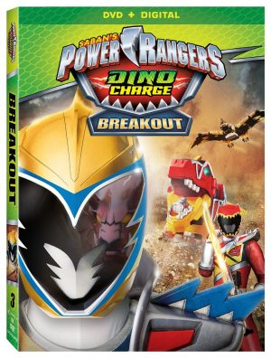 POWER RANGERS DINO CHARGE: BREAKOUT. (DVD Artwork). ©Lionsgate.