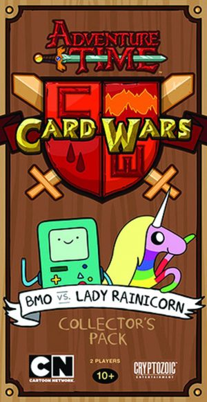 ADVENTURE TIME: CARD WARS. (DVD Artwork). ©Cartoon Network.