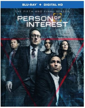 PERSON OF INTEREST: THE COMPLETE FIFTH AND FINAL SEASON. (DVD Artwork). ©Warner Home Video.