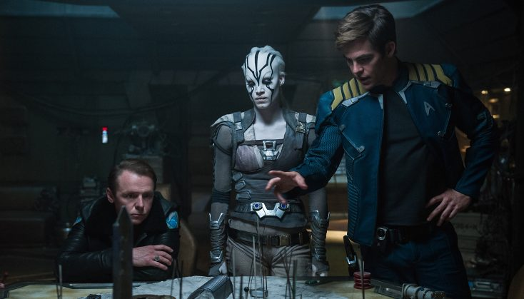 Simon Pegg on Scripting and Starring in 'Star Trek Beyond'