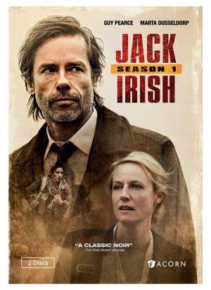 JACK IRISH SEASON 1. (DVD Artwork). ©Acorn.