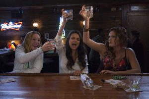 (l-r) Kristen Bell, Mila Kunis and Kathryn Hahn star in BAD MOMS. ©STX Productions. CR: Michele K. Short.