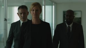 (center) Anna Gunn stars in EQUITY. ©Sony Pictures Classics.