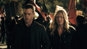 Matt Damon and Julia Stiles star in JASON BOURNE. ©Universal Studios.
