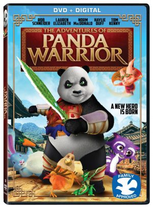 THE ADVENTURES OF PANDA WARRIOR. (DVD Artwork). ©Lionsgate.