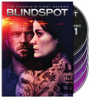 BLINDSPOT THE COMPLETE FIRST SEASON. (DVD Artwork). ©Warner Home Video.