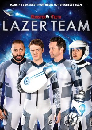 LAZER TEAM. (DVD Artwork). ©Anchor Bay.