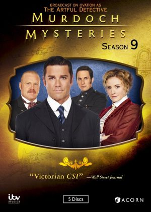 MURDOCH MYSTERIES SEASON 9. (DVD Artwork). ©Anchor Bay..