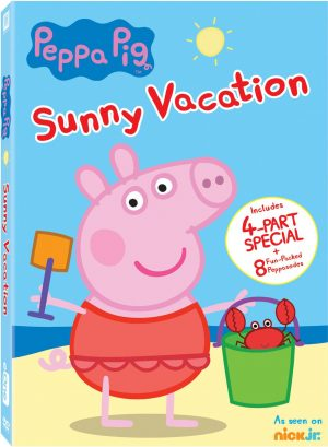 PEPPA PIG SUNNY VACATION. (DVD Artwork). ©20th Century Fox.