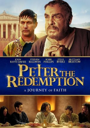 PETER THE REDEMPTION. (DVD Artwork). ©Cinedigm.