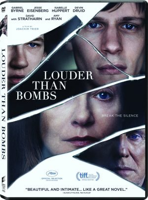 LOUDER THAN BOMBS. (DVD Artwork).. ©Sony Pictures Home Entertainment.
