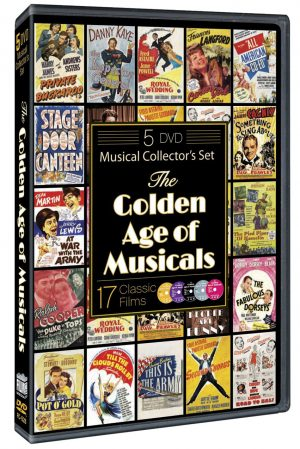 THE GOLDEN AGE OF MUSICALS. (DVD Artwork). ©Film Chest.
