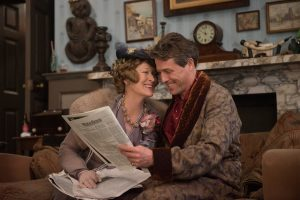 Meryl Streep as Florence Foster Jenkins and Hugh Grant as St Clair Bayfield in FLORENCE FOSTER JENKINS. ©Paramoutn Pictuers. CR: NIck Wall.