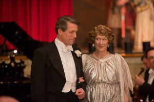 Meryl Streep as Florence Foster Jenkins and Hugh Grant as St Clair Bayfield in FLORENCE FOSTER JENKINS. ©Paramount Pictures. Nick Wall.