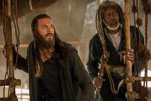Jack Huston plays Judah Ben-Hur and Morgan Freeman plays Ilderim in BEN-HUR. © Metro-Goldwyn-Mayer Pictures and Paramount Pictures. CR: Philippe Antonello