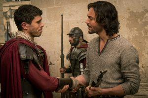 Toby Kebbell plays Messala Severus and Jack Huston plays Judah Ben-Hur in BEN-HUR. ©Paramount Pictures and Metro-Goldwyn-Mayer Pictures.CR: Philippe Antonello