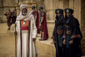 Morgan Freeman plays Ilderim in BEN-HUR. ©Paramount Pictures and Metro-Goldwyn-Mayer Pictures. CR: Philippe Antonello