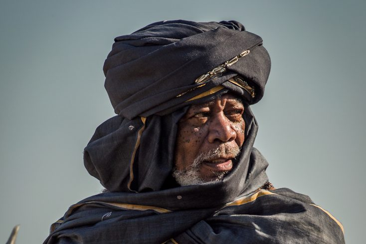 Photos: 'Ben-Hur' Offers A Sheik Role for Actor Morgan Freeman