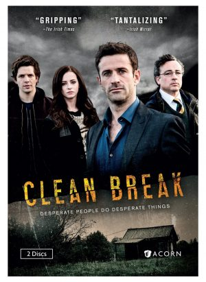 CLEAN BREAK SEASON 1. (DVD Artwork). ©Acorn