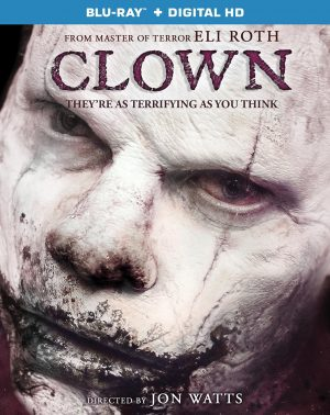 CLOWN. (DVD Artwork). ©Anchor Bay.