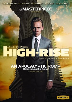 HIGH RISE. (DVD Artwork). ©Magoolia Home Entertainment.