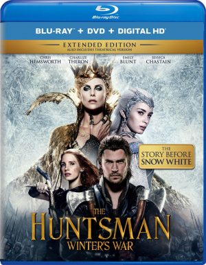 THE HUNTSMAN WINTER'S WAR. (DVD Artwork). ©Universal Home Entertainment.