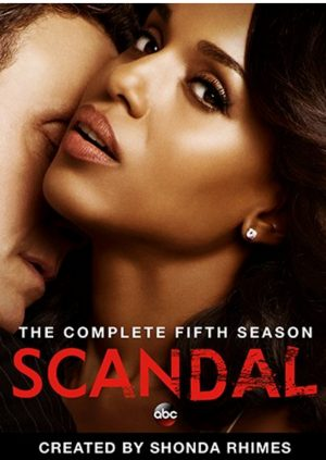 SCANDAL: THE COMPLETE FIFTH SEASON. (DVD Artwork)> ©Walt Disney Studios.