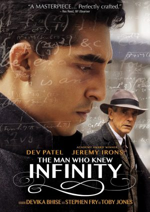 THE MAN WHO KNEW INFINITY. (DVD Artwork). ©Paramount.