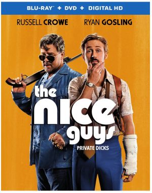 THE NICE GUYS. (DVD Artwork). ©Warner Home Video.