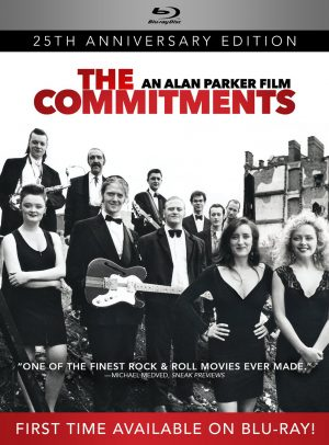 THE COMMITMENTS: 25TH ANNIVERSARY EDITION. (DVD Artwork). ©Image Entertainment.