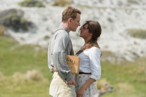 Michael Fassbender stars as Tom Sherbourne and Alicia Vikander as his wife Isabel in DreamWorks Pictures poignant drama THE LIGHT BETWEEN OCEANS ©Dreamworks. CR: Davi Russo.