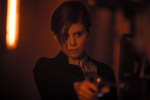 "Kate Mara portrays a corporate troubleshooter whose investigation of a seemingly innocent ""human"" named Morgan (Anya Taylor-Joy), suddenly takes a dangerous turn in MORGAN. ©20th Century Fox/ CR: Aidan Monaghan."