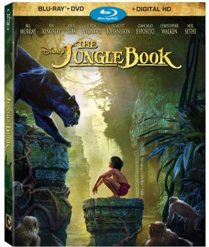 THE JUNGLE BOOK. (DVD Artwork). ©Disney.