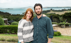 Co-stars explore New Zealand on location.