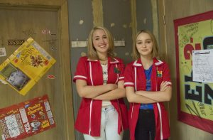 Harley Quinn Smith and Lily-Rose Depp star in YOGA HOSERS.
