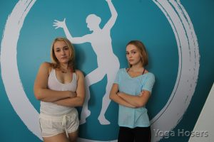 (l-r) Harley Quinn Smith and Lily-Rose Depp in YOGA HOSERS. ©Yoga Hosers, LLC. CR: Holly Stein.