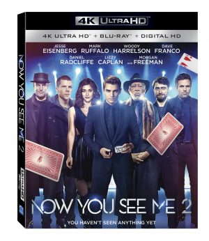 NOW YOU SEE ME 2. (DVD Artwork). ©Lionsgate.
