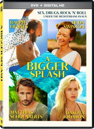 A BIGGER SPLASH. (DVD Artwork). ©20th Century Fox.
