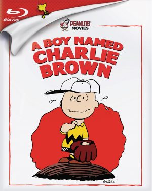 PEANUTS: A BOY NAMED CHARLIE BROWN. (DVD Artwork). ©Paramount.