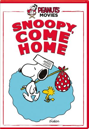PEANUTS: SNOOPY, COME HOME. (DVD Artwork). ©Paramount.